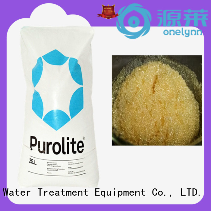 New ion exchange resin company for water treatment