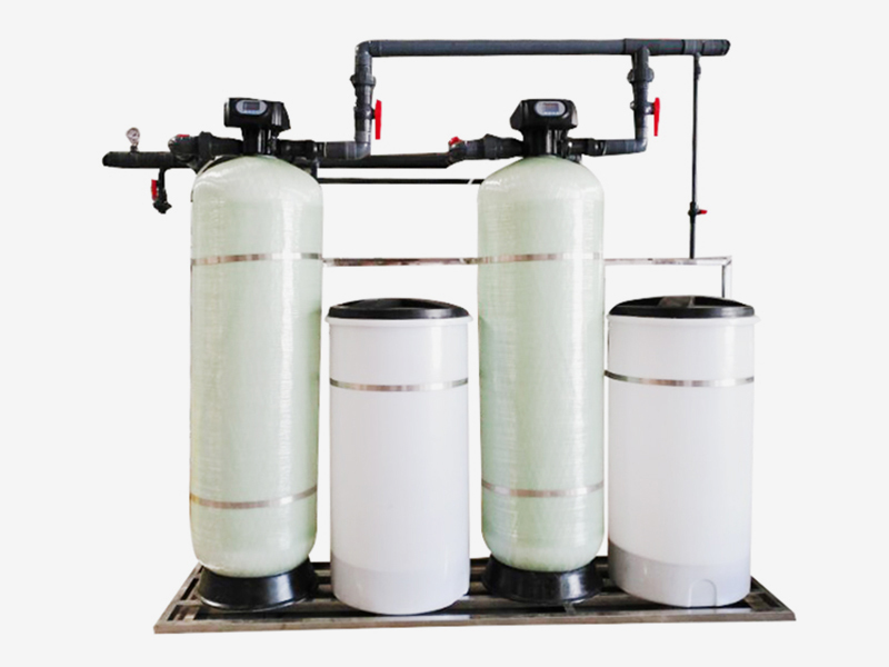 Automatic water softening equipment