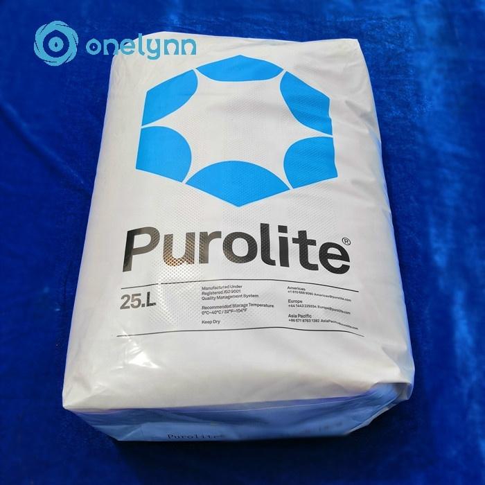 Onelynn Cationic Purolite Ion Exchange Resin001*7