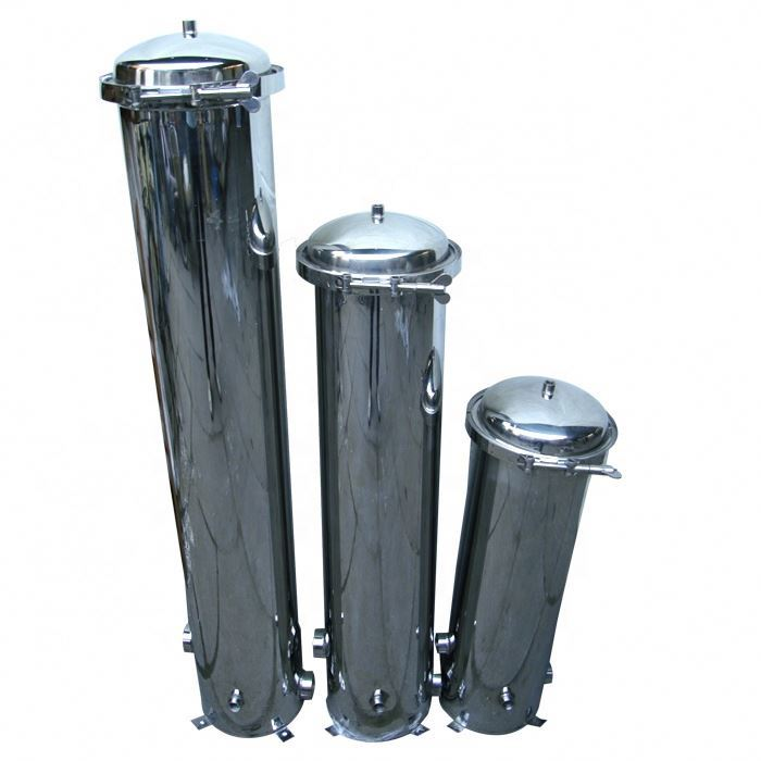 10 20 Inch Stainless Steel Cartridge Water Filter Housing