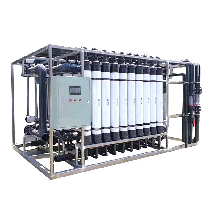 Mineral Water Ultrfiltration Membrane Filter Water Treatment Plant System