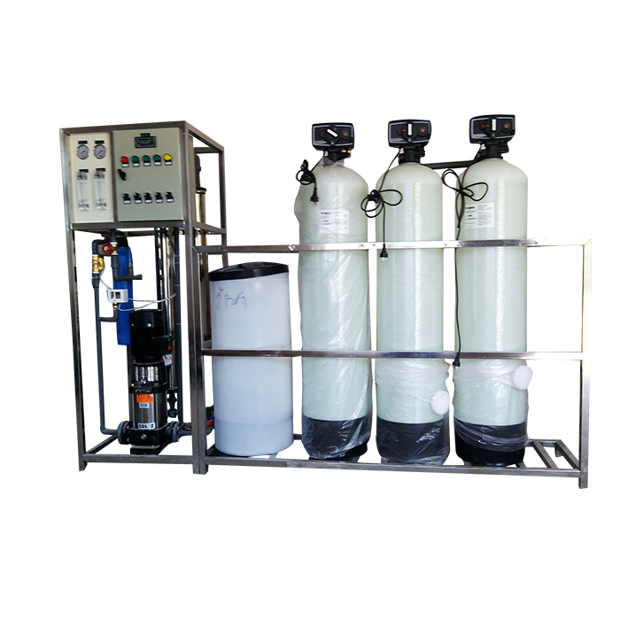 Large scale reverse osmosis water treatment equipment factory price