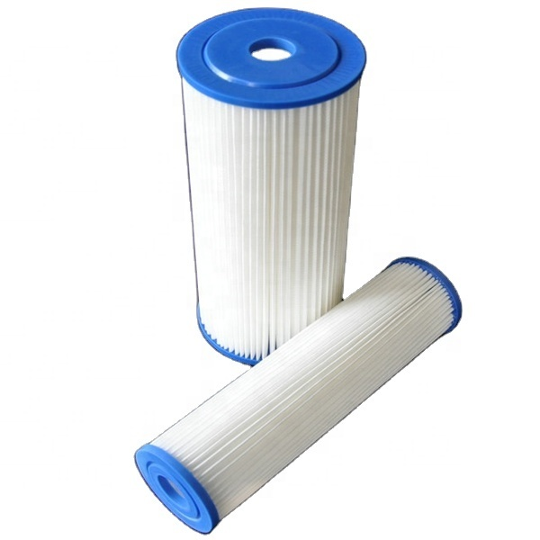PP Pleated water filter cartridges 20 INCH for water treatment system