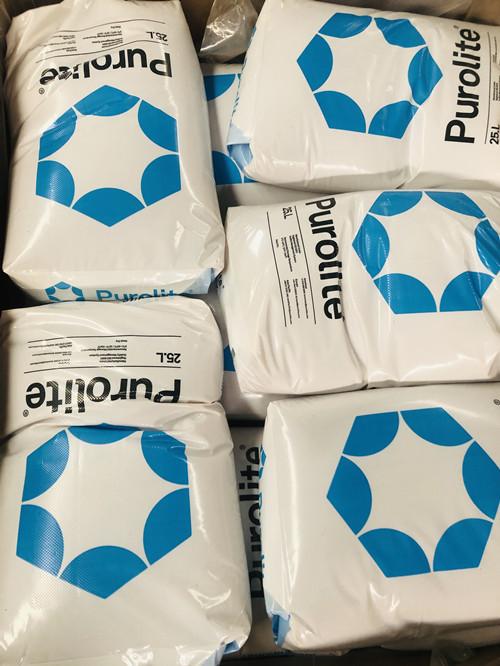 Waste water treatment Purolite ion exchange resin