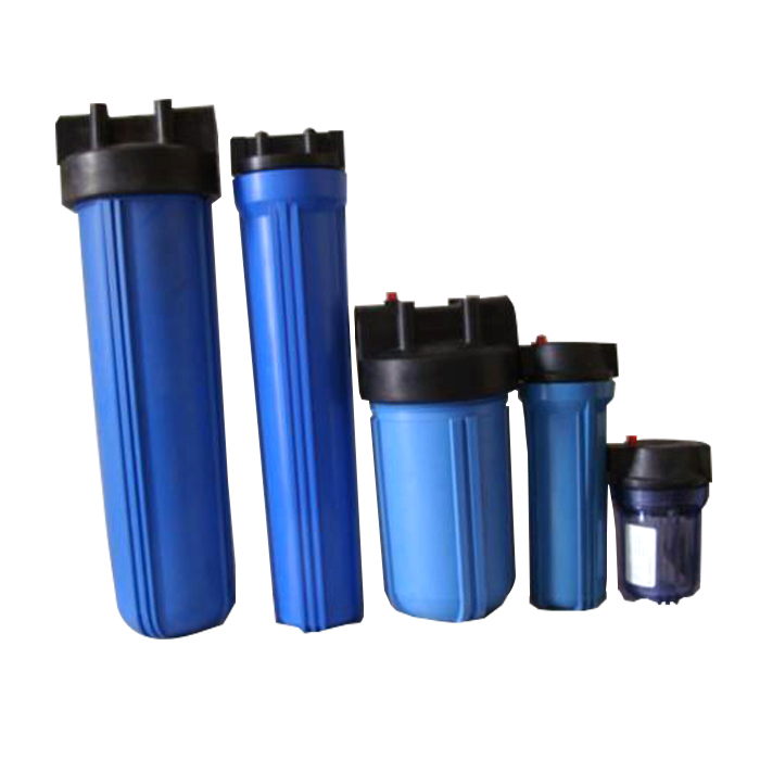 Durable Blue Water Filter Housing For Commercial Ro System