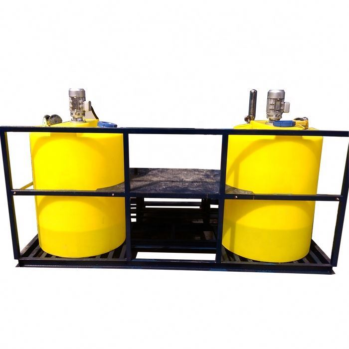 Flocculant Mixing Liquid Chemical Dosing Tanks System