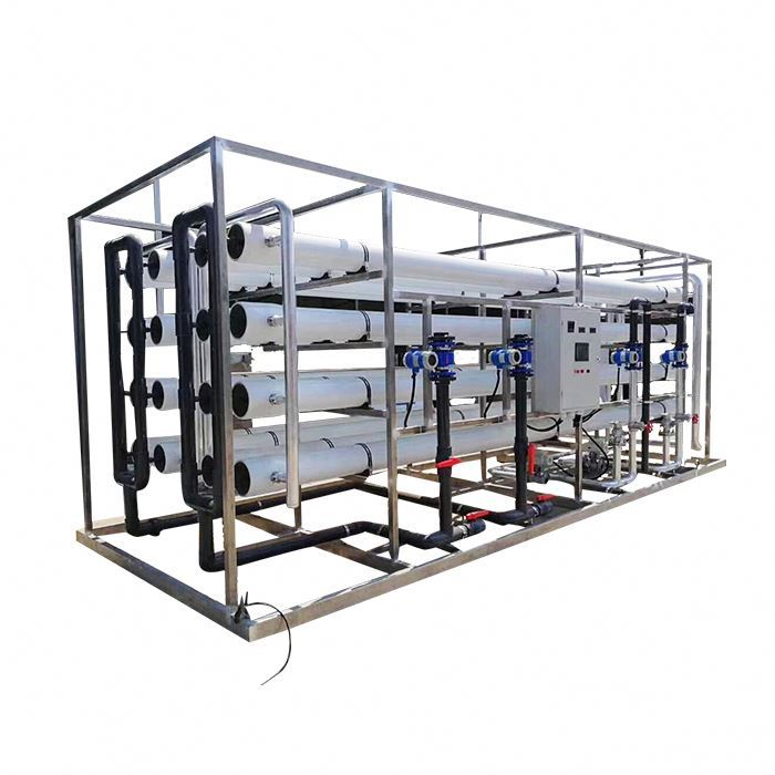 Reverse osmosis water systems purified water