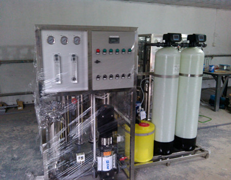 Reverse osmosis drinking water system with High pressure pump