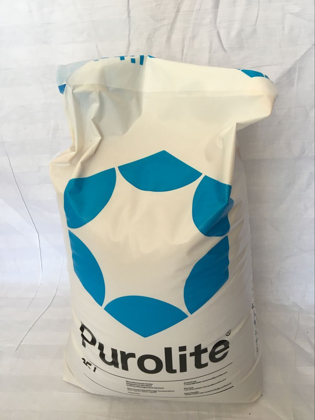 Purolite  polishing mixed bed resin MB400 25 litres/package