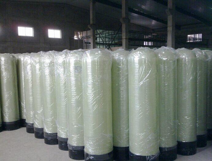 Glass fiber reinforced plastic tank resin softener tank for water treatment equipment