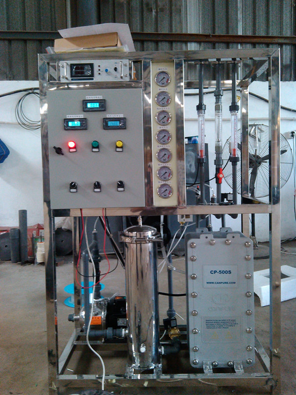 1000L Reverse osmosis drinking with EDI  filtration water treatment
