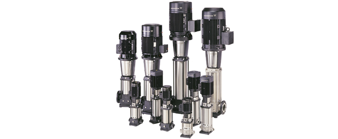 The stainless steel Vertical multistage Centrifugal Pump CDMF5 for water treatment system