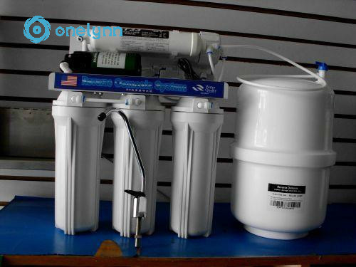 5 stage  household  reverse osmosis system 100gpd water filter