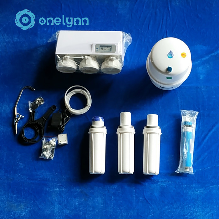 Household portable 5 stage 100gpd reverse osmosis drinking water