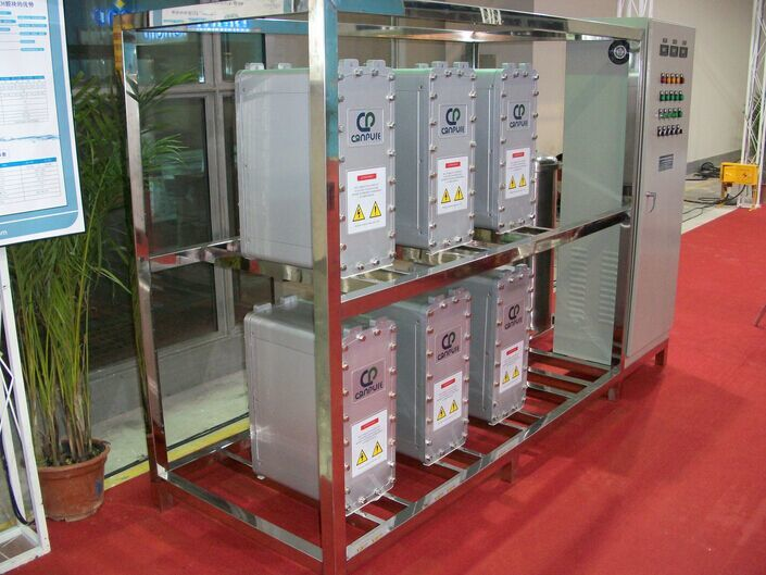 EDI 500L/H reverse osmosis ultra-pure Electrodeionization water equipment