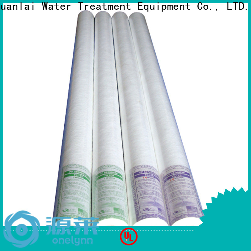 Onelynn Custom water purifier filter cartridge manufacturers for water treatment