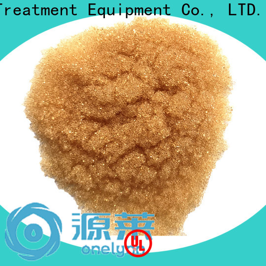 Onelynn Wholesale water softener resin beads Supply for water treatment